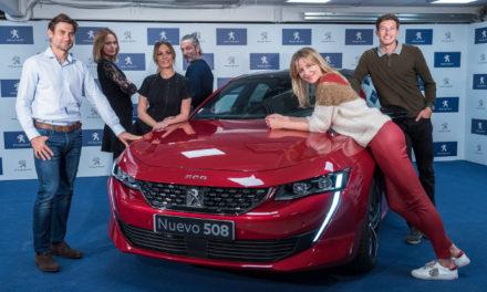 Figuras del espectáculo y el deporte descubren lo último del Nuevo Peugeot 508