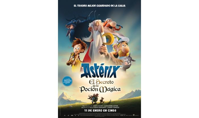 Llega Astérix: el secreto de la poción mágica