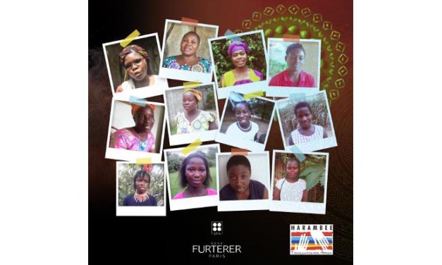 René Furterer, con la educación de la mujer africana