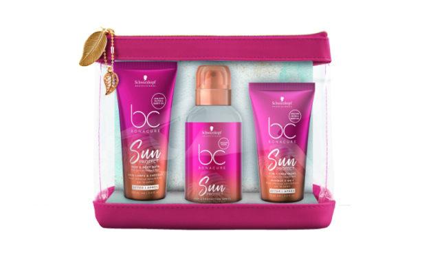 Protege tu cabello del sol todo el año con el nuevo bc Sun Protect