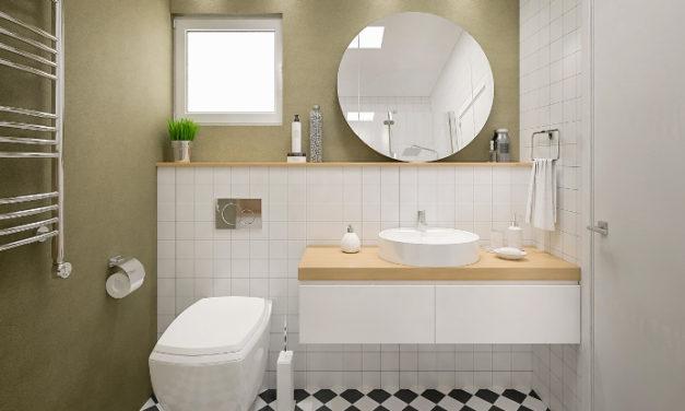 Cómo ganar más espacio en un baño pequeño