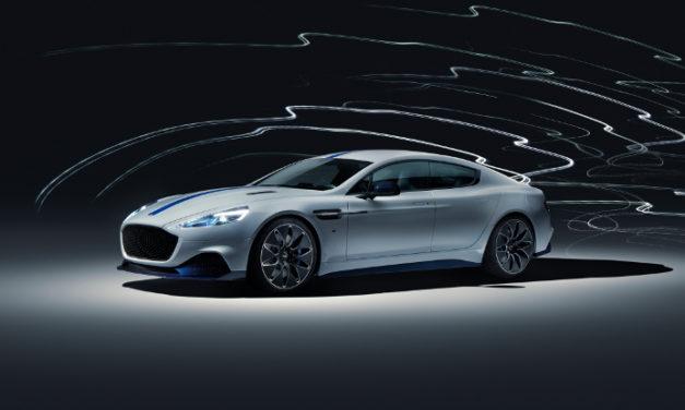 El primer modelo eléctrico de Aston Martin, el Rapide E, ¡ya está listo!
