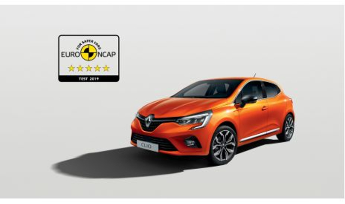 Nuevo Renault Clio consigue las codiciadas 5 estrellas en las pruebas de seguridad Euro NCAP