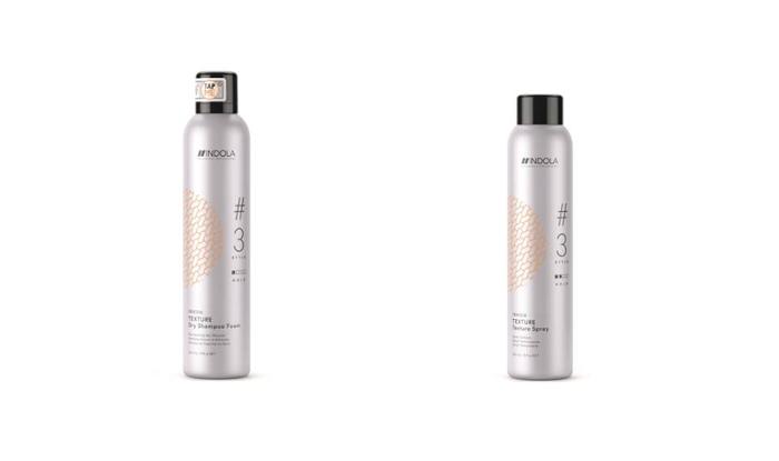 Conseguir un 'efecto despeinado' es fácil con los nuevos productos de textura de Indola