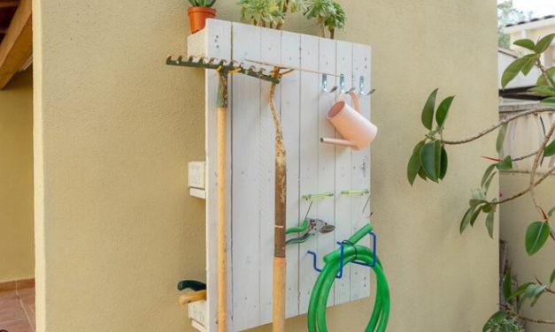 Cómo amueblar tu jardín con palets