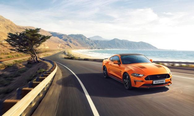 Ford lanza la edición especial Mustang55 V8 de 5.0 litros y un renovado Mustang EcoBoost 2.3 litros