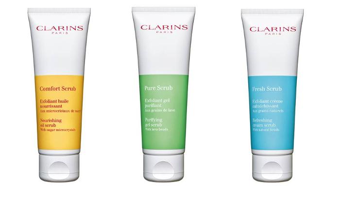 Renueva la piel de tu rostro con los nuevos tratamientos exfoliantes de Clarins