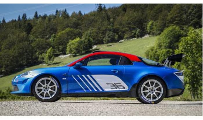 Alpine presenta la espectacular versión A 110 Rally