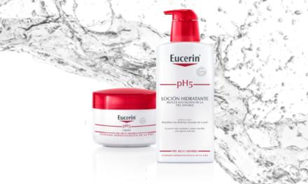 Piel siempre hidratada y libre de irritaciones con Eucerin