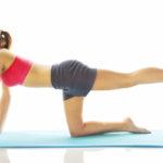 Ejercicios para fortalecer piernas, abdomen y glúteos en casa