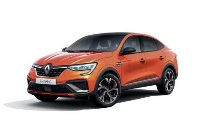 Llega a Europa el Nuevo Renault Arkana, un SUV coupé híbrido