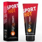 Utiliza Kyrocream Sport Hot antes del entrenamiento para evitar lesiones