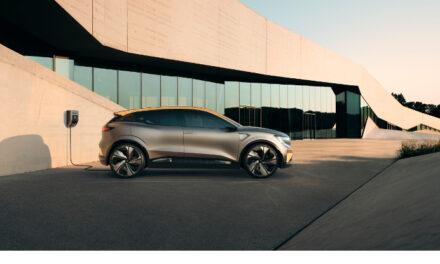 Renault presenta el Show Car Mégane eVision