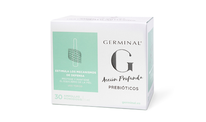 Combate el maskné con Germinal acción profunda prebióticos