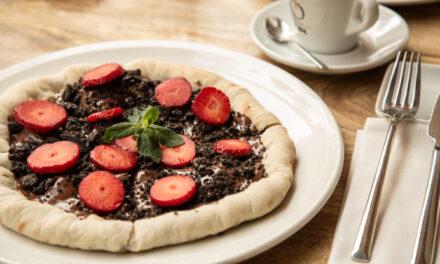 Las 'pizzas golosas' más irresistibles de restaurante Occhiali