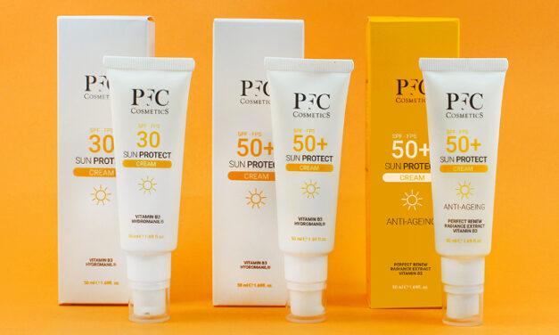 Protégete del 'astro rey' con la nueva línea de solares PFC Cosmetics