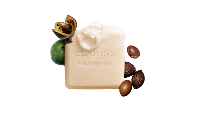 Shampooing Solide Nourrissant Clarins, suave con el planeta